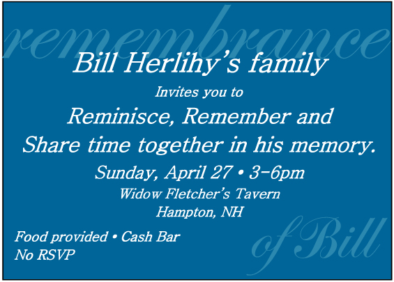 Please attend Sunday April 27, 3-6pm